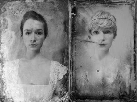 Era-Emulating Selfies - Annalisa Hartlaub Imagined Herself in Different Styles of the Decades