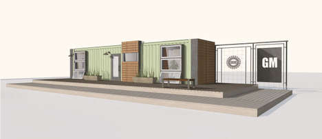 Upcycled Shipping Container Abodes - GM