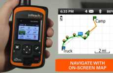 Versatile Backcountry Phones - The Delorme Inreach Explorer Offers Communication & Navigation Tools