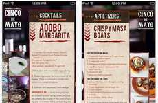 Mexican Cookbook Apps - The Cinco de Mayo Cookbook Makes Sure You're Prepared