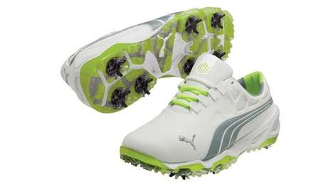 Sleek Golf Kicks - These Puma Golf Shoes Provide Maximum Performance & Style on the Green