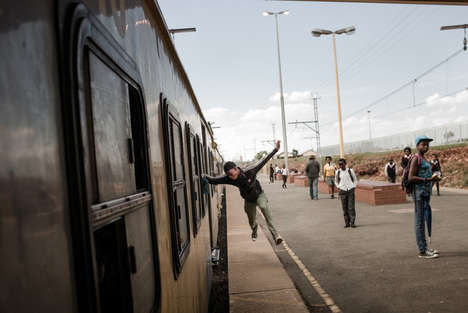 High-Speed Train Surfing - This Dangerous Sport is Gaining Traction in South America