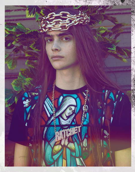 Religious Rebel Photography - The Roan Louch by Christopher Logan Image Series is Youthfully Edgy