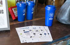 Eco-Conscious Cup Shares - A Recycled Coffee Cups Program is Encouraging Drinkers to Share Mugs
