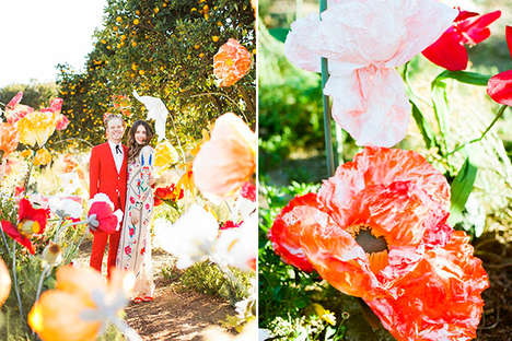 Backyard Bridal Photos - Backyard Weddings Can Be Just as Elaborate as Traditional Ones