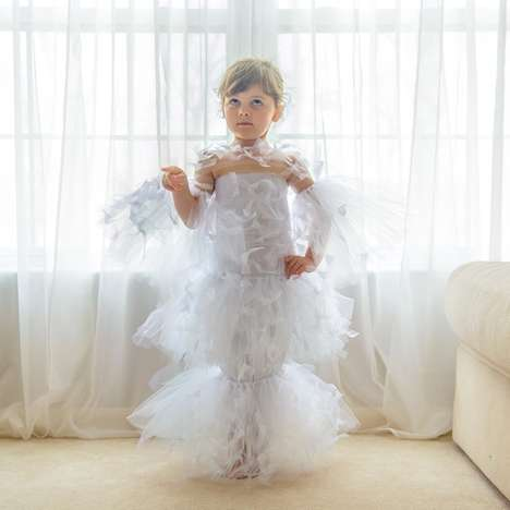 Toddler Costume Gown Designs - Mayhem at the Met Ball Recreates Favorite Gala Outfits for Vogue