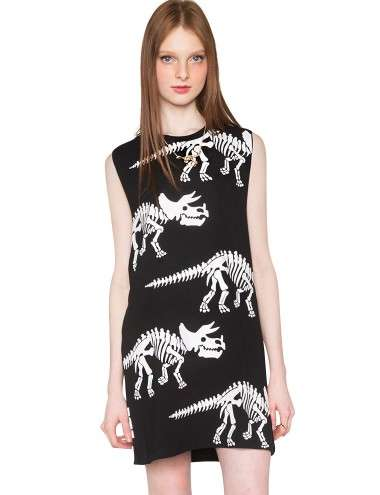 Fossilized Fashion Staples - The Dinosaur Tank Dress from Pixie Market Makes a Fierce Statement