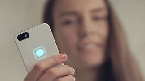 Self-Charging Smartphone Cases - The Lunecase Interacts with iPhones & is Charged by Their Radiation