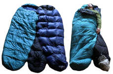 Dog Sleeping Bag Attachments - The Barker Bag by Andy Storms Ensure Pet and Owners Stay Warm