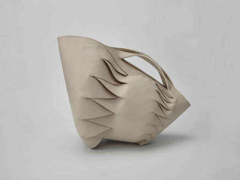 Modern Gypsy Bags - System and Form by Anges Kovacs is Inspired by Carpathian Hair Braids