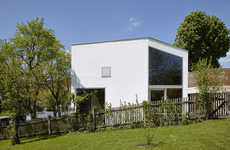 German Eco Architecture - Haus Lux House by Manfred Lux Marries Aesthetics with Sustainability