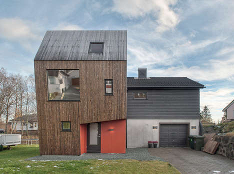 Barn-Like Building Extensions -