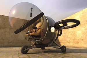The Eduardo Galvani Fly Citycopter Plane is Designed for Transit