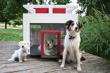Modernist Pet Abodes - The Cubix Modern Dog House is a Chic Habitat for Man