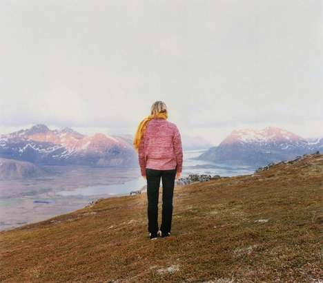 Solitary Self-Reflective Snapshots - The Elina Brotherus Pictures Are Isolated and Set in Nature