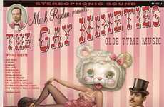 Collaborative Art Albums - The Gay Nineties Album by Artist Mark Ryden Helps Disadvantaged Schools