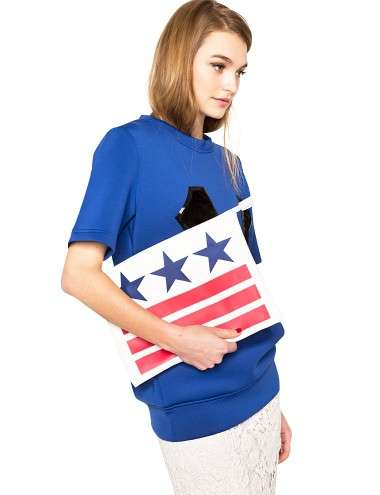 Patriotic Purse Accessories - A US-Themed Clutch to Celebrate the White House Correspondents Dinner