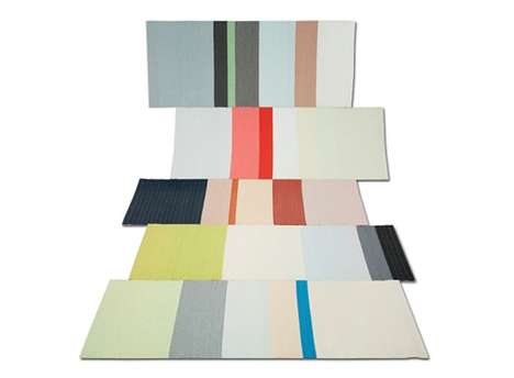 Chromatic Paper Rugs - The Scholten & Baijings Paper Carpet Adds a Delicate Touch to Any Home