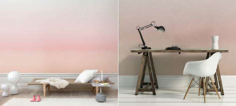Swedish Sunset Wallpapers - These Sandberg Collections Are Inspired by the Swedish Winter Landscape