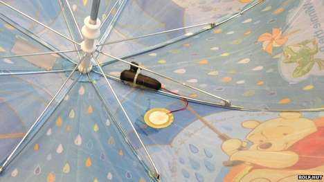 Smart Umbrella Sensors - A Device Collects Crowdsourced Rain Data for More Accurate Weather Reports