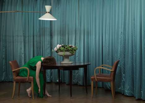 Peculiar Hotel Photography - Do Not Disturb by Anja Niemi Revolves Around Odd Behaviours