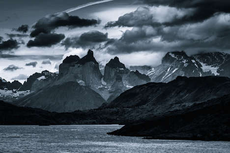 Monochromatic Mountain Photography - Mondor 2.0 by Jakub Polomski is Dark and Ominous