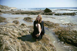 Juliette Cassidy Photographs a Brooding Nuria at the Beach