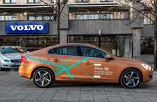 Self-Driving Swedish Cars - Volvo is Testing a Fleet of Autonomous Cars for its 'Drive Me' Campaign
