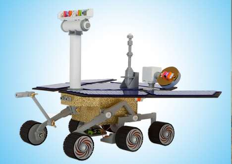 Buildable Space Rovers - The NASA littleBIts Space Kit Lets Children Recreate the Mars Rover