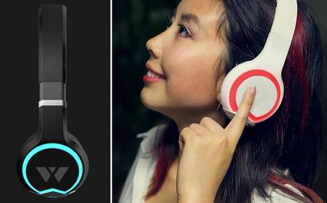 Sociable Bluetooth Headphones - These Music-Sharing Headphones Make Listening a Social Experience