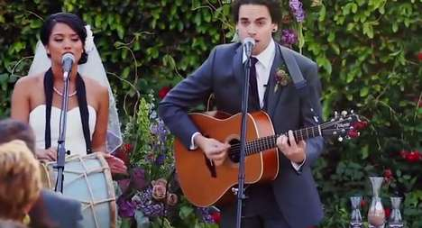 Melodic Wedding Vows - The Musical Pair of 'Us The Duo' Composed Their Own Romantic Wedding Song