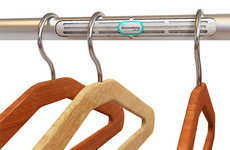 Aerating Closet Rails - The Air Rod Ventilates Your Vestments to Refresh Them Hassle-Free