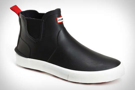 Sneaker-Shaped Wellies - The Hunter Daleton Boot are Slimmer and More Conspicuous