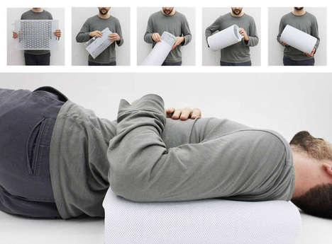 Bedsore-Preventing Mattresses - The Air Cocoon by Horatio Yuxin Han Provides Airflow for Comfort