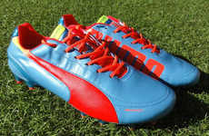 Speedy Leather Soccer Boots - The Puma evoSPEED 1.2 Leather Shoe Helps Players Accelerate Faster