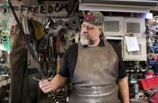 Replica Fantasy Swords - Blacksmith Tony Swatton Recreates John Snow's Longclaw