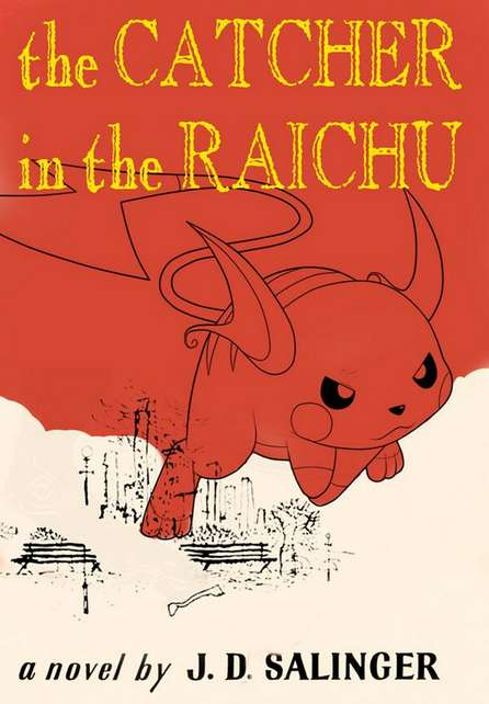 Anime Book Title Spoofs - #PokemonBookTitles Shows Off Funny Book Covers Infused with Pokemon