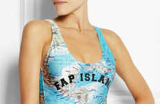 Naughtily Abbreviated Swimsuits - The Fap Island Swimsuit Suggests You Practice Self-Love