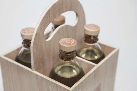 Sustainable Water Packaging - Herbal Water Encourages People to Reuse its Bottles