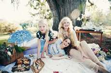 Dreamy Picnic Lookbooks - The Wildfox Summer 2014 Catalog Embraces a Traditional Summer Activity