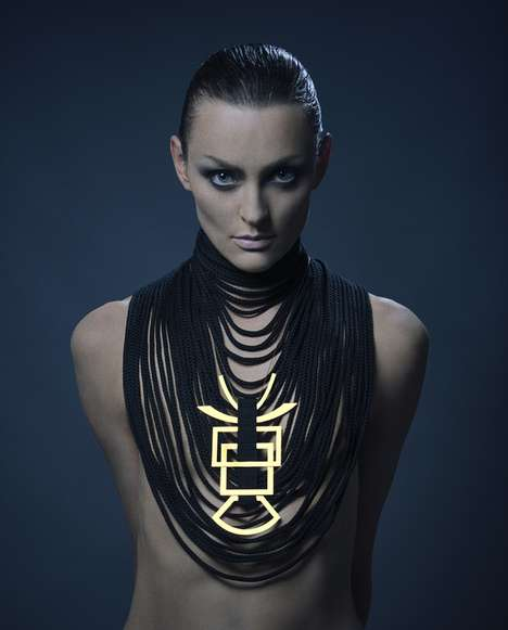 Tribal Minimalism Accessories - The Michal Taharlev 2014 Jewelry Collection Evokes Simple Elegance