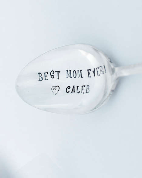Affectionately Engraved Spoons - This 'Best Mom Ever!' Spoon is an Engraved Mother's Day Present