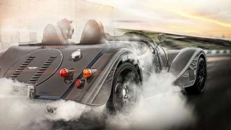 Revamped Classic Sports Cars - The Morgan Plus 8 Speedster Effortlessly Blends Old-School and Modern
