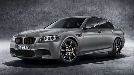 Commemorative Sports Sedans - The BMW M5 30th Anniversary Edition is the Most Powerful M5 Ever