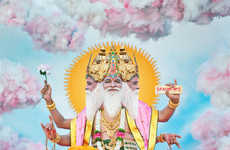 Vibrant Deity Photos