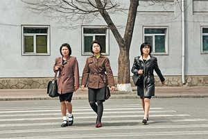 The 'Korea -- Korea' Series Contrasts Public Scenes in North and South Korea