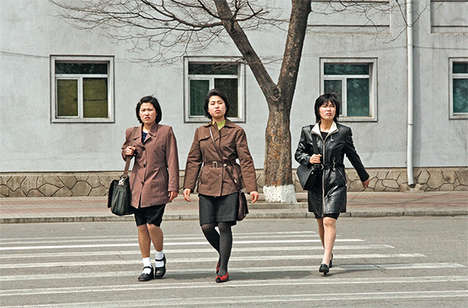 Korean Divide Photos - The 'Korea -- Korea' Series Contrasts Public Scenes in North and South Korea