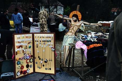Plastic Jesus Photos - Vasile Dorolti's Photos Use Jesus Statues to Symbolize Changing Traditions