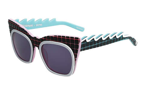 80s Inspired Surfer Sunnies - The Emma Mulholland x Pared Eyewear Collection is Vibrantly Retro