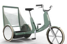 Efficient Nesting Rickshaws - The Lecomotion Urban E-Trike is a Fun and Effective Way Around Town